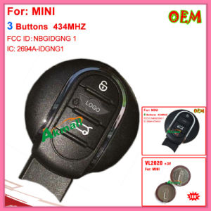 Auto Mini Remote Key 434MHz with 4 Buttons pictures & photos