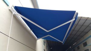 24 X 17 Feet Motorized Retractable Awning with 100% Solution Dyed Acrylic Fabric UV Protection