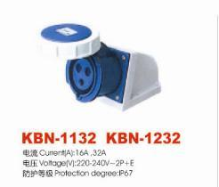 Industrial Plugs and Socket (KBN-1132)