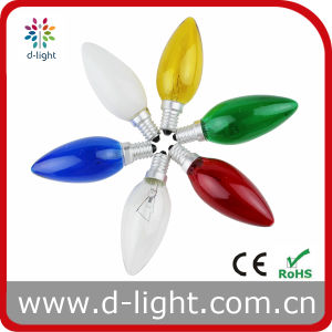 C35 out-Painted Decorative Candle Bulb