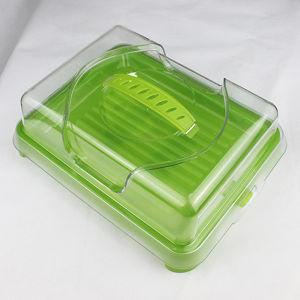 Green Plastic Square Cold Boxes