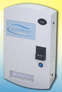 Wall Mounting Toothbrush, Bag Packaged, Tests, Condom Vending Machine