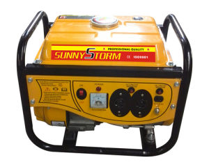 800W /1kw /1.2kw Gasoline Generator (New Model) pictures & photos