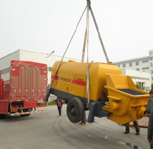 Static Concrete Pump (HBTS30-10-37)