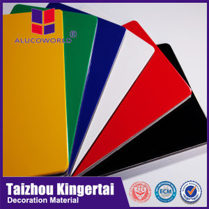 Alucoworld Cheapest with High Quality 3mm Aluminum Composite Panel pictures & photos