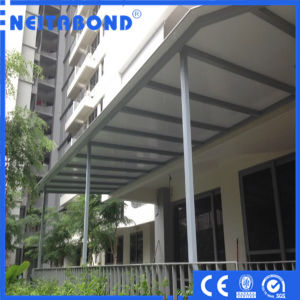 3mm 4mm Aluminum Composite Panel Used for Sunshade Shadow pictures & photos