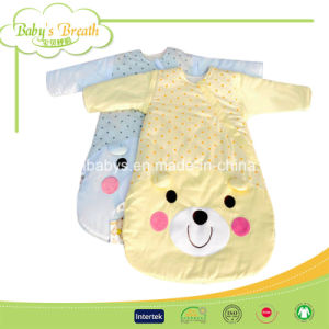 Sleeves Washable Cotton Printed Baby Sleeping Bag
