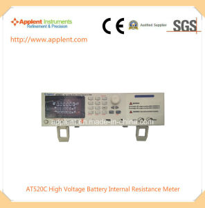 Battery Tester for Internal Resistance and Voltage with 10mv-400V (AT520C) pictures & photos
