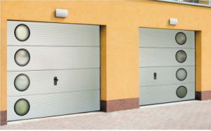 Sectional Garage Door (silver gray) pictures & photos