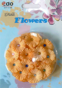 Fabric Flowers with Foam Sticker (FFR-01)