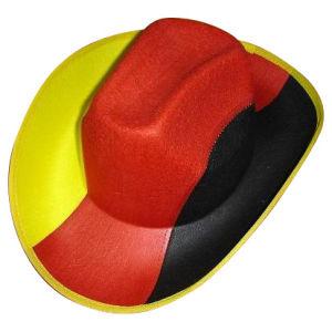 3 Colors Non Woven Felt Cowboy Hat pictures & photos