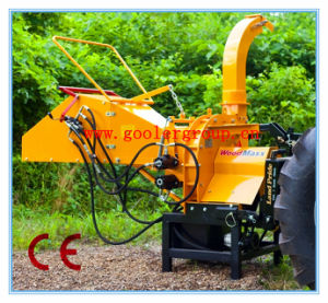 3pl Pto Driven Wood Chipper, CE Certifricate, Automatic Hydraulic Feeding Wood Chipper (TH-8) pictures & photos