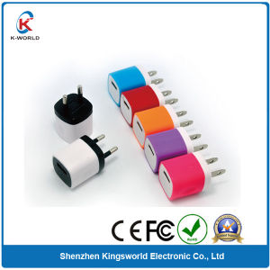 2014 Fast Bi-Color Craft USB Travel Charger 1A pictures & photos
