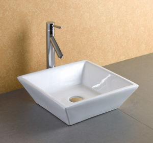 Countertop Square Bathroom Sink pictures & photos