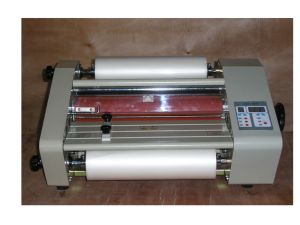 A4 Hard Cover Roll Laminator (FM360) pictures & photos