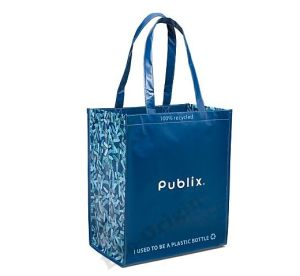 Laminated 100% Recycled Tote Bag (EOB-19)