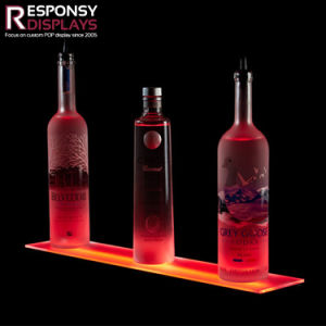 Acrylic Counter LED Light Box for Wine pictures & photos