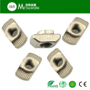 OEM Zinc Plated Carbon Steel Slotted T Hammer Nut pictures & photos