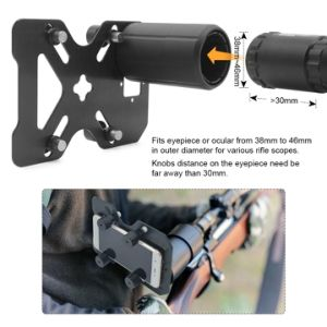 Smartphone Holder for Riflescope Telescope Microscope Binocular Monocular pictures & photos