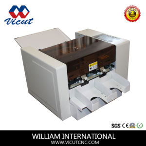 Electric A4 Paper Business Card Cutting Machine pictures & photos