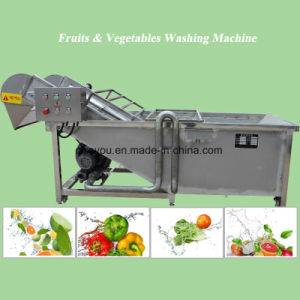 China Selling Fruit Vegetable Washing Cleaning Processing Machine (WS) pictures & photos