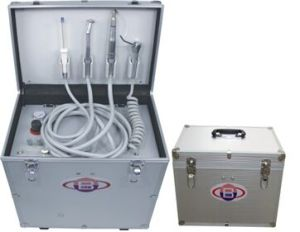 Dental Portable Delivery Unit /Three Way Syringe /Suction System-Alisa pictures & photos