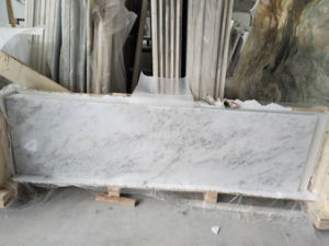 China White Marble with Grey Veins pictures & photos