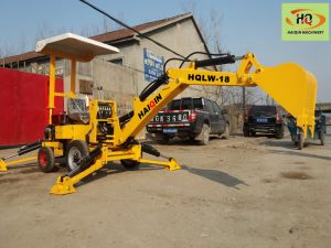 Made in China Farm Mini Excavator (HQLW018) for Sale pictures & photos