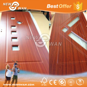 PVC Wooden Door Made in China (NPV-IP0006) pictures & photos