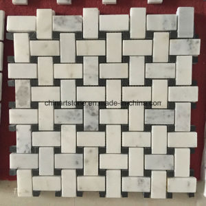 China White Marble Bianco Carrara Mosaic for Wall Tile pictures & photos