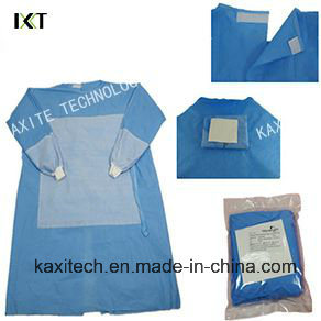 Disposable Anti-Blood Clothes Surgical Gown for Hospital Surgery pictures & photos