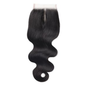 Premium Quality Free Style Lace Closure 4*4 Silky18inches pictures & photos