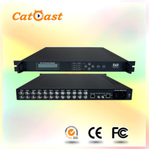 8in1 DVB-T SD with IP Input and RF Output Integrated Encoder Modulator pictures & photos