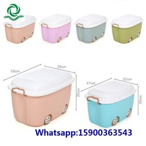 Plastic Cartoon Storage Container Box From Tesco/Carrefour Supplier pictures & photos