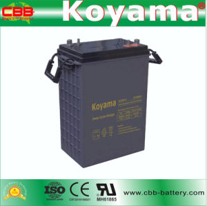 DC380-6 6V 380ah Deep Cycle AGM Battery Motive Power Battery pictures & photos