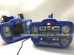 First Aid with Aed Manual Mode SpO2, ECG Defibrillator pictures & photos