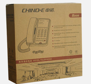 Hotel Telephone B008, Speaker Phone, Handsfree Phone, Hotel Product, Message Telephone pictures & photos