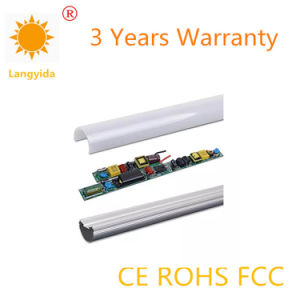 High Quality 9-18W Double Light Source T8 Tube 120-130 Lm/W with Ce RoHS pictures & photos