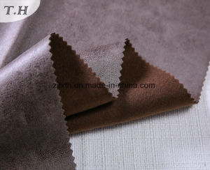 2017 Chinese Upholstery Fabric Suede Fabric for Sofa pictures & photos
