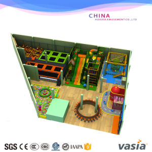 Free Jumping Trampoline Mat Park Playground for Children pictures & photos