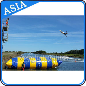 Big Colorful Lake Inflatable Catapult Blob, Inflatable Water Blob Body Launcher Inflatable Water Rock Climbing pictures & photos