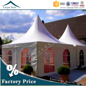 4X4m Outdoor Canopy Camping Gazebo Party Tent with Glass Door pictures & photos