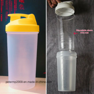 21oz Shaker Bottte Protein Shaker Bottle Easy to Clean 600ml (hn-sc001) pictures & photos