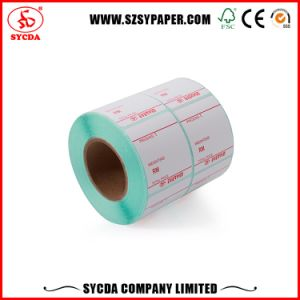 White Color Price Sticker Thermal Self Adhesive Label pictures & photos