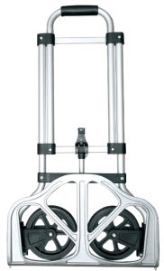 Foldable Aluminium Hand Trolley (HT022M) pictures & photos