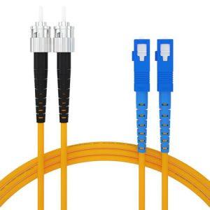 SC-ST SM Simplex Fiber Optic Patch Cord pictures & photos