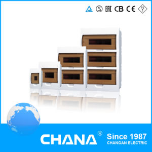 63A 10ka Power Plastic 4way 8way Surface Mounted Distribution Box pictures & photos
