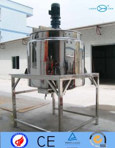 Ss304 Ss316L Mixing Tank Vessel Opened Flip Double Layer pictures & photos