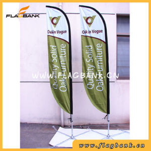 Outdoor Customized Digital Printing Beach Feather Flag pictures & photos