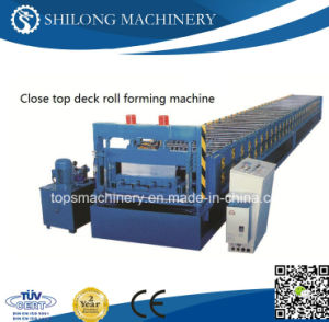 Double Layers Color Steel Glazed Roof Tile Forming Machine pictures & photos